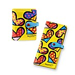 Britto™ by Giftcraft Heart Design Yellow Wallets