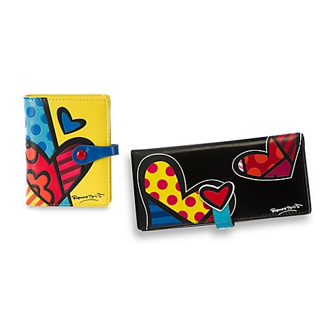 Britto™ by Giftcraft Heart Design Wallets