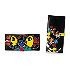 Britto™ by Giftcraft Black Clutch Wallets