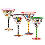 Britto™ by Giftcraft 8-Ounce Martini Glasses