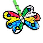 Britto™ by Giftcraft Luggage Tag in Butterfly