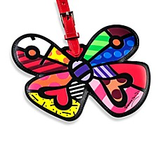 Britto™ by Giftcraft Luggage Tag in Butterfly Heart