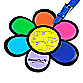 Britto™ by Giftcraft Luggage Tag in Flower