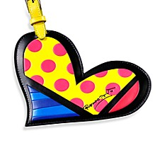 Britto™ by Giftcraft Luggage Tag in Heart