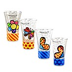 Britto™ by Giftcraft 3.4-Ounce Shot Glasses