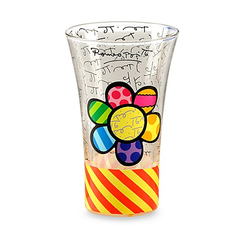 Britto™ by Giftcraft Flower 3.4-Ounce Shot Glass
