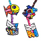 Britto™ by Giftcraft Animal-Shaped Luggage Tags