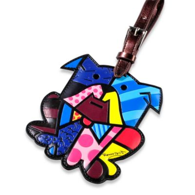 Britto™ by Giftcraft Animal-Shaped Luggage Tag in Dog