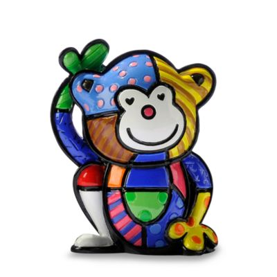 Britto™ by Giftcraft Cheeky Monkey Miniature Figurine