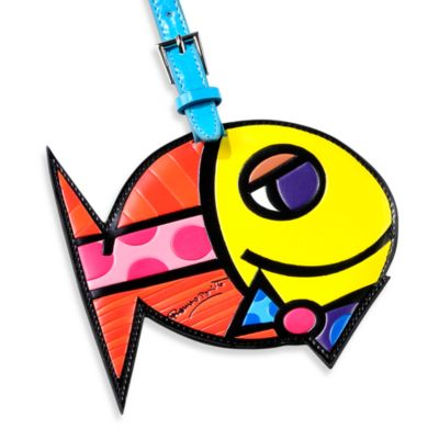 Britto™ by Giftcraft Animal-Shaped Luggage Tag in Fish