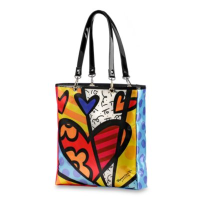 Britto™ by Giftcraft A New Day Heart Tote Bag in Large