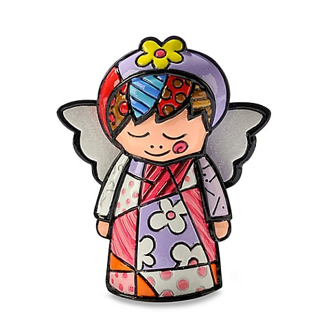 Britto™ by Giftcraft Angel Miniature Figurine