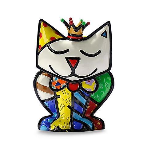 Britto™ by Giftcraft Princess Cat Miniature Figurine