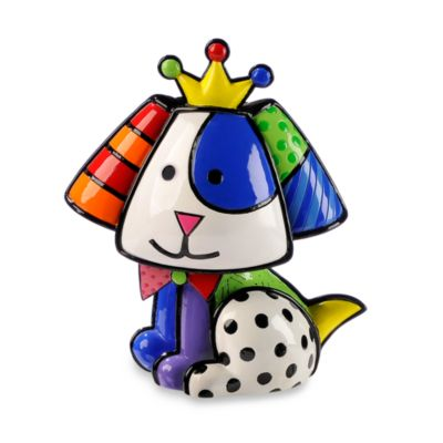 Britto™ by Giftcraft Beagle Dog Figurine with Certificate of Authenticity