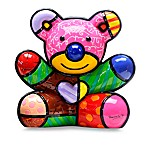 Britto™ by Giftcraft Fun Bear Figurine with Certificate of Authenticity
