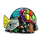 Britto™ by Giftcraft Tim Cat Figurine with Certificate of Authenticity