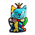 Britto™ by Giftcraft Royalty Cat Figurine with Certificate of Authenticity