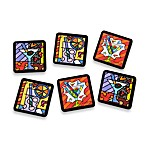 Britto™ by Giftcraft Cocktail Themed Beverage Coasters (Set of 6)