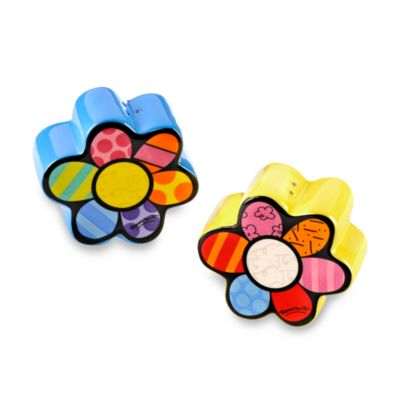 Britto™ by Giftcraft Flower Salt & Pepper Shaker Set