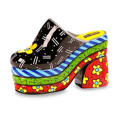Britto™ by Giftcraft Clog Shoe Figurine