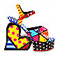 Britto™ by Giftcraft Sling-Back Shoe Figurine