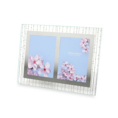 Celestial Mirrored 2-Opening 5-Inch x 7-Inch Frame