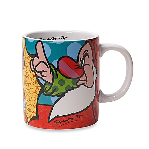 Disney by Britto™ Grumpy 16-Ounce Mug