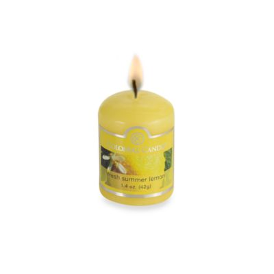Colonial Candle® Fresh Summer Lemon Scented 1.7-Ounce Votive Candle