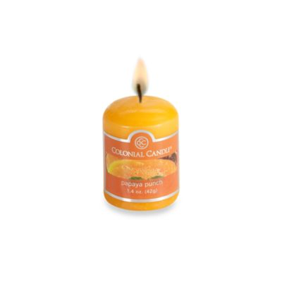 Colonial Candle® Papaya Punch Scented Candle in 1.7-Ounce Votive