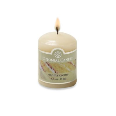 Colonial Candle® Vanilla Creme Scented Candle in 1.7-Ounce Votive