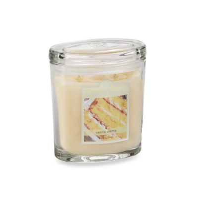 Colonial Candle® Vanilla Creme Scented Candle in 8-Ounce Oval Jar Candle