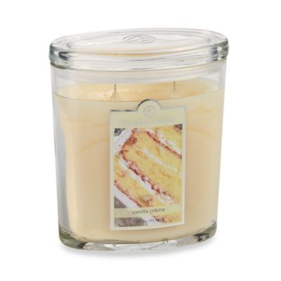 Colonial Candle® Vanilla Creme Scented Candle in 22-Ounce Oval Jar Candle