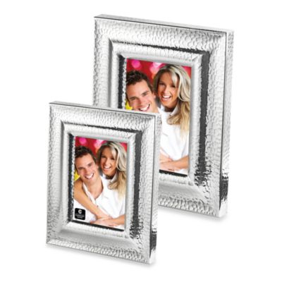 Cupecoy Design Hammered 4-Inch x 6-Inch Frame