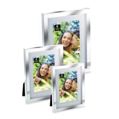 Cupecoy Silver Plated Frame with Double Mat