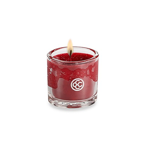 Colonial Candle® Cranberry Cosmo Scented Candle in 1.8-Ounce Oval Jar Votive