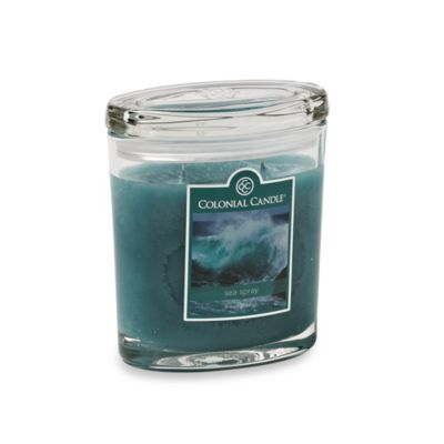 Colonial Candle® Sea Spray Scented Candle in 8-Ounce Oval Jar Candle