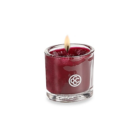 Colonial Candle® Plum Noir Scented Candle in 1.8-Ounce Oval Jar Votive