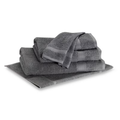 Lasting Color Hand Towel in Grey