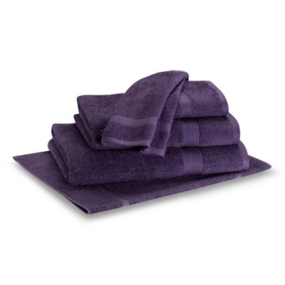 Lasting Color Wash Cloth in Purple