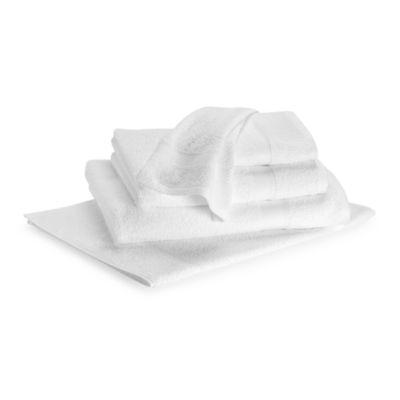 Lasting Color Bath Sheet in White