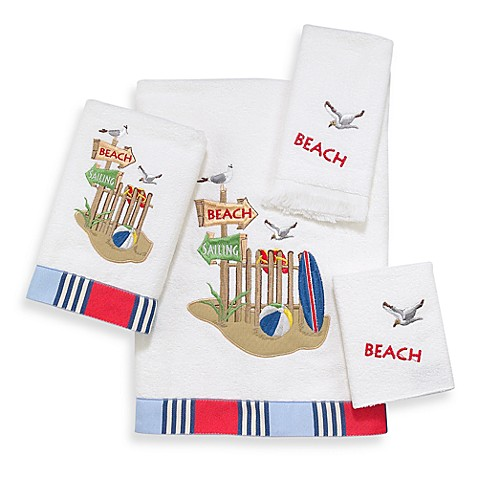 Avanti Beach Day Fingertip Towel
