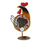 Himalayan Breeze Decorative Rooster Fan
