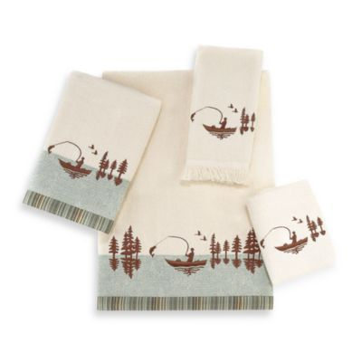 Avanti Gone Fishing Bath Towel