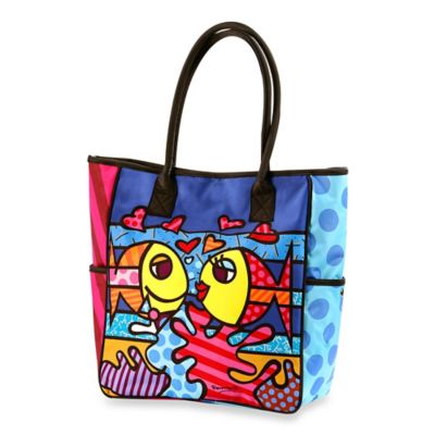 Britto™ by Giftcraft Deeply in Love Tote Bag in Small