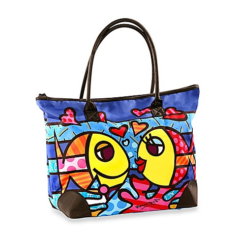Britto™ by Giftcraft Deeply in Love Tote Bag in Large