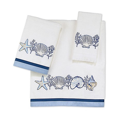 Avanti Nassau Bath Towel in White