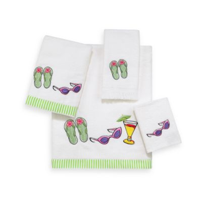 Avanti Summertime Washcloth