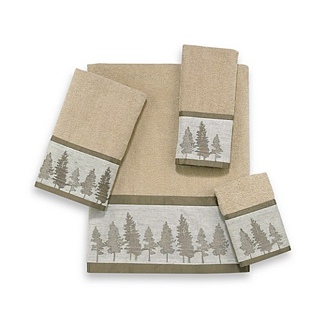 Avanti Whispering Pines Fingertip Towel