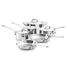 Mauviel M'cook 10-Piece Cookware Set and Open Stock