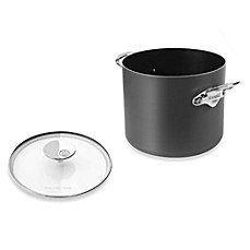 Mauviel M'stone2 Aluminum 9.6-Quart Stockpot with Glass Lid